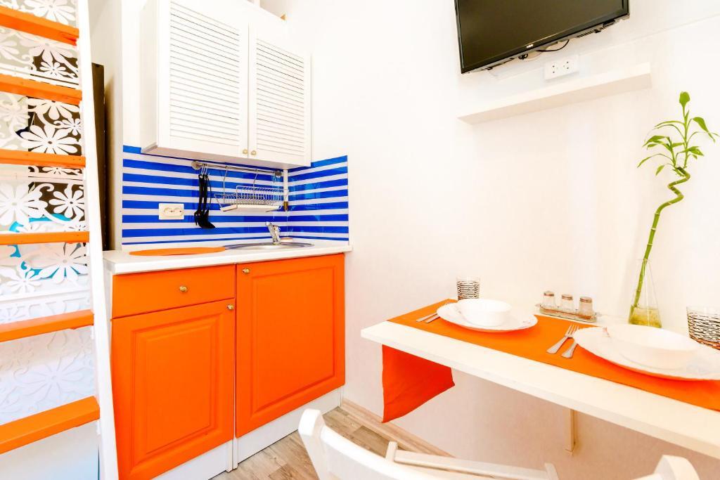 Ванная комната в Sokroma Алые Паруса Aparts