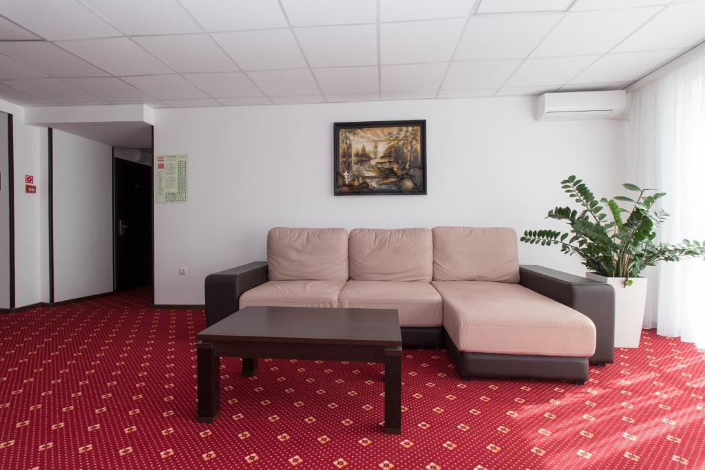 Гостиная зона в Отель Атрия