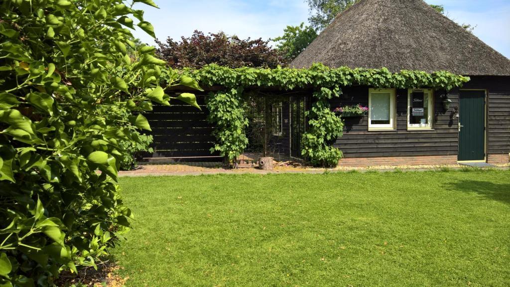 A garden outside Bed & breakfast Giethoorn