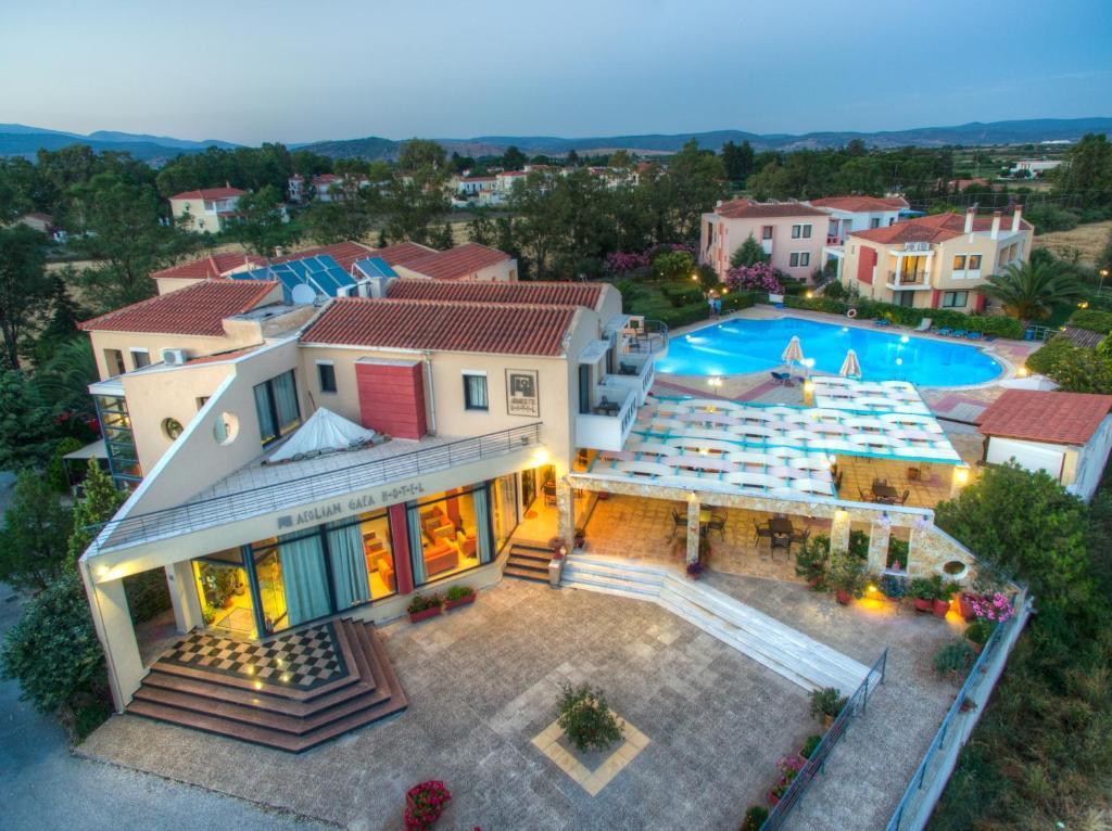 A bird's-eye view of Aeolian Gaea Hotel