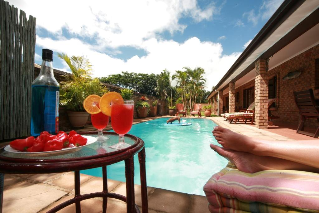 The swimming pool at or near Marlin Lodge St Lucia