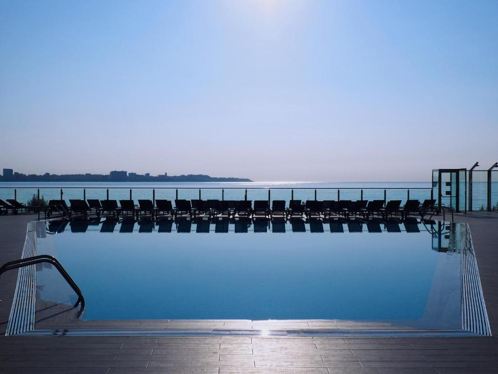 The swimming pool at or close to Melia Alicante