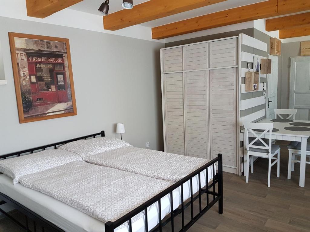 Postel nebo postele na pokoji v ubytování Viñas