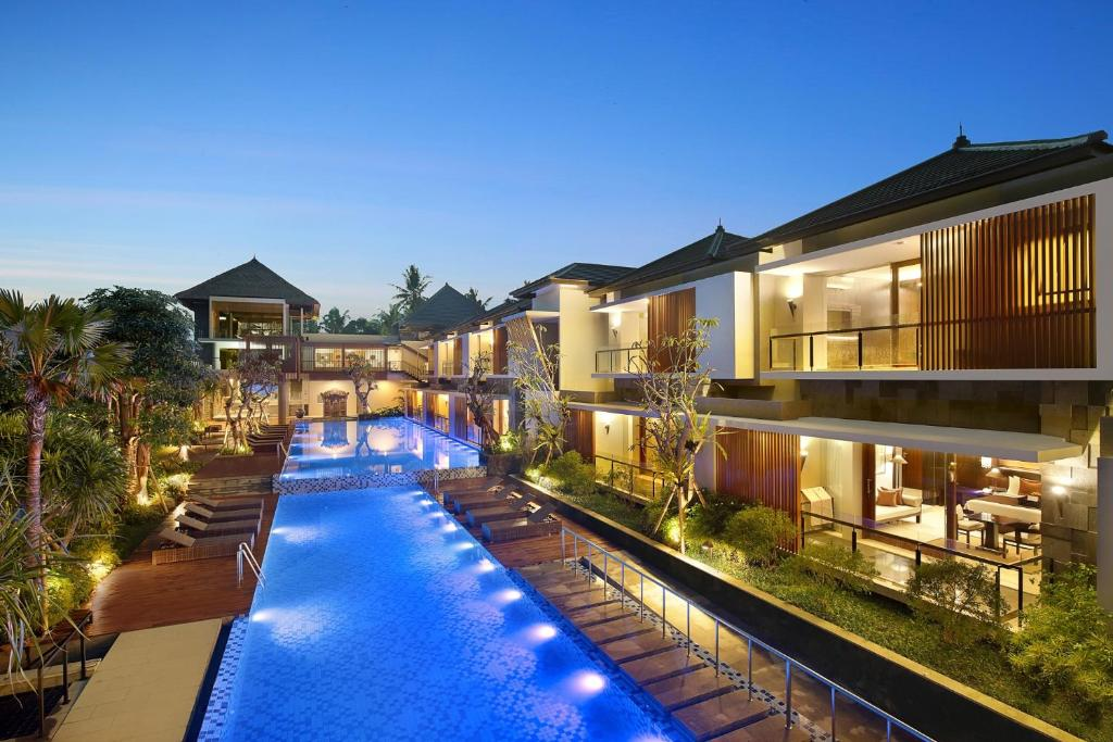 The swimming pool at or near Royal Kamuela Villas & Suites at Monkey Forest Ubud