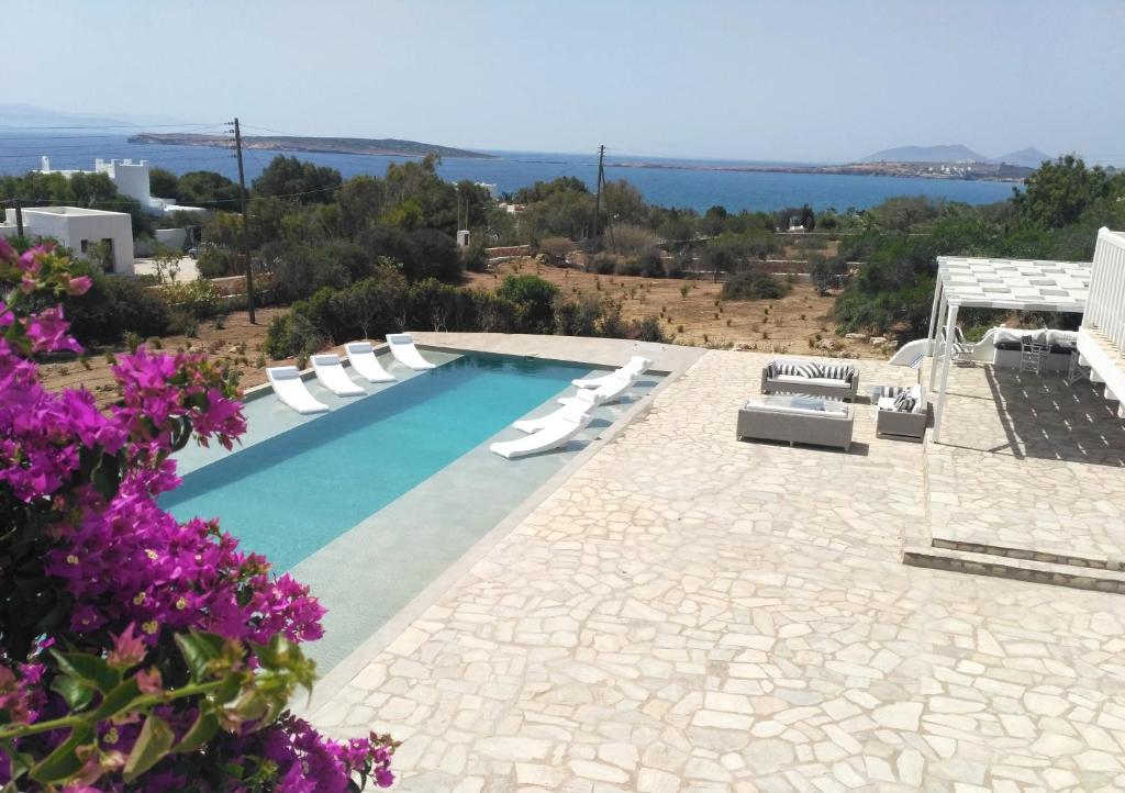 The swimming pool at or near Villa Veni