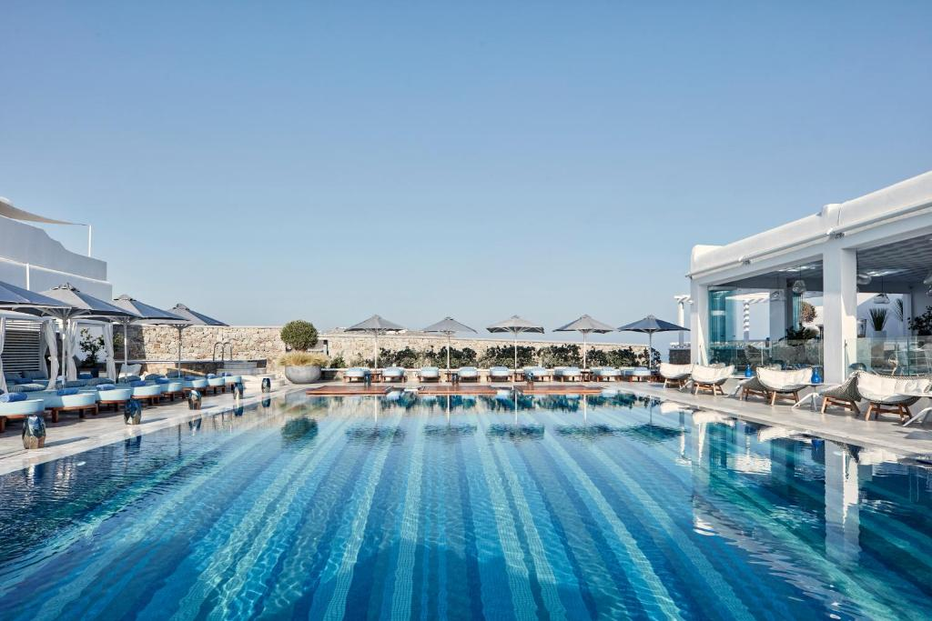 The swimming pool at or near Myconian Kyma - Design Hotels