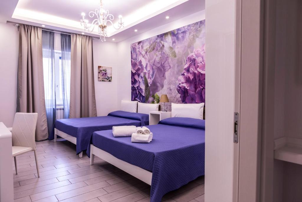 Letto o letti in una camera di Maison De luxe
