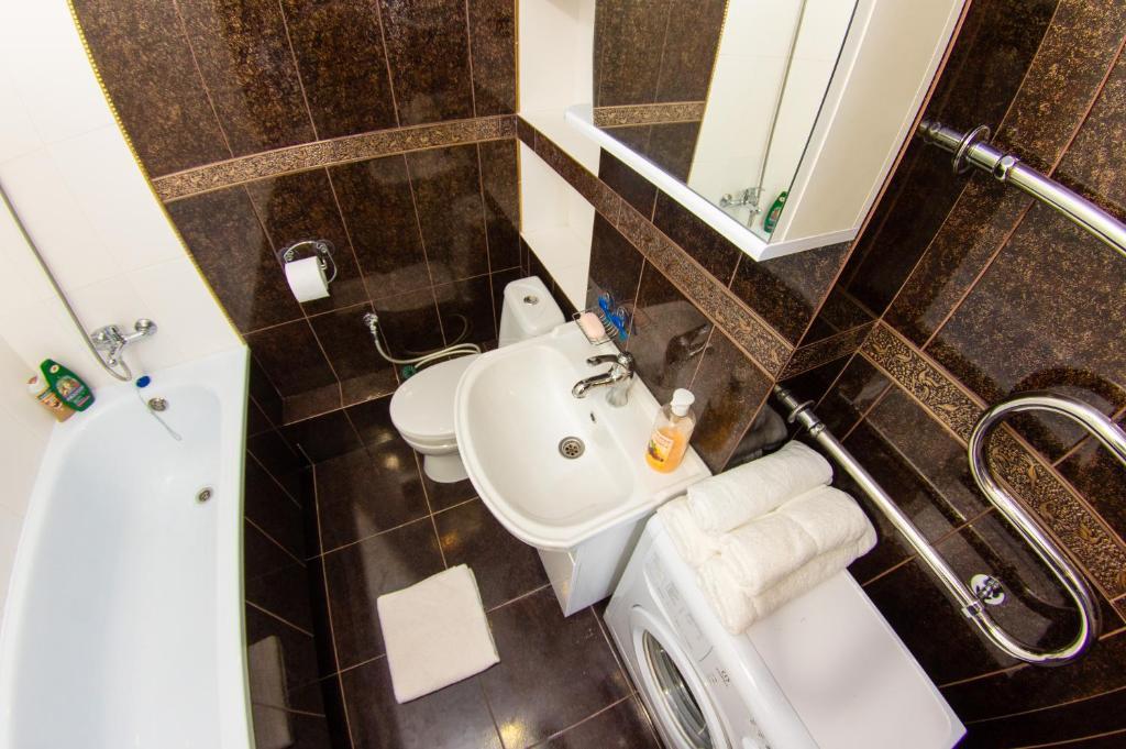 Ванная комната в Апартаменты ЖК Акварель