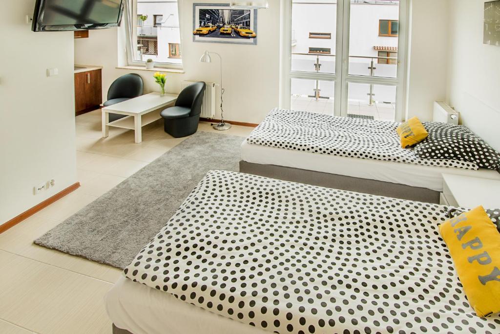 Część wypoczynkowa w obiekcie Apartament Kniaziewicza - Komfortowe Noclegi