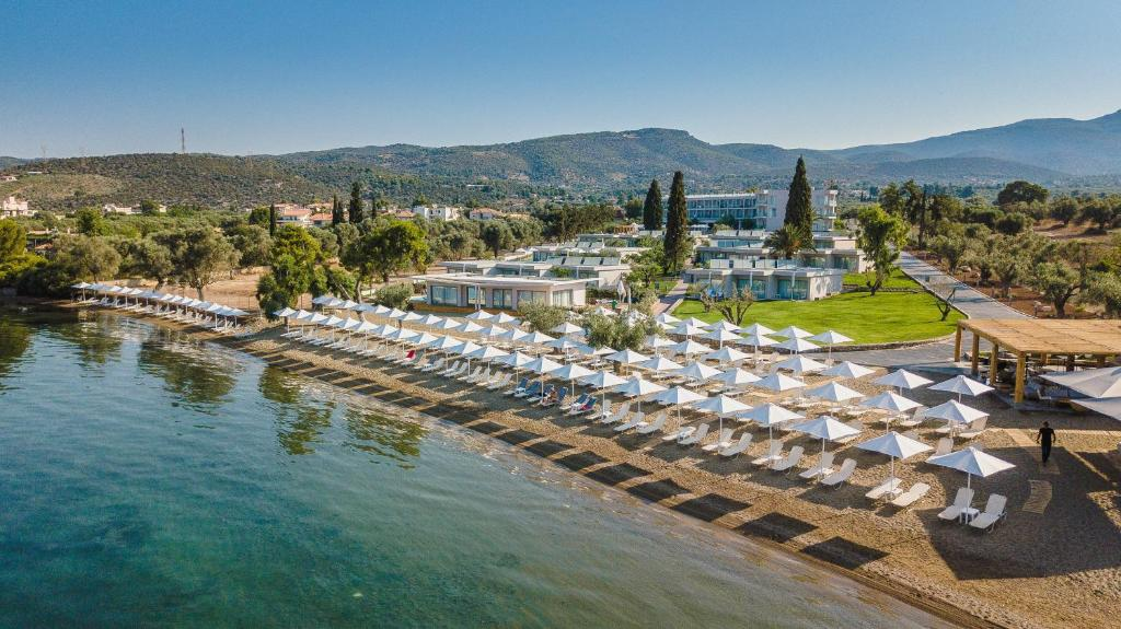 A bird's-eye view of Amaronda Resort & Spa Eretria