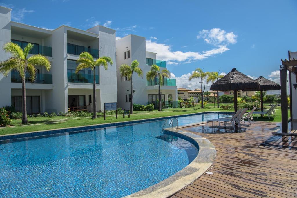 A piscina localizada em Apartamento Mediterrâneo ou nos arredores