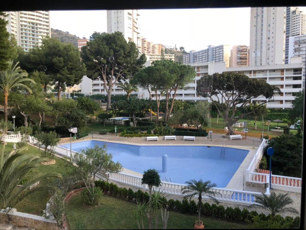 Vista de la piscina de Apartment Playmon Park o alrededores