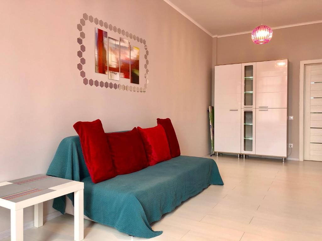 Гостиная зона в Seaside exquisite 2 pc apartment