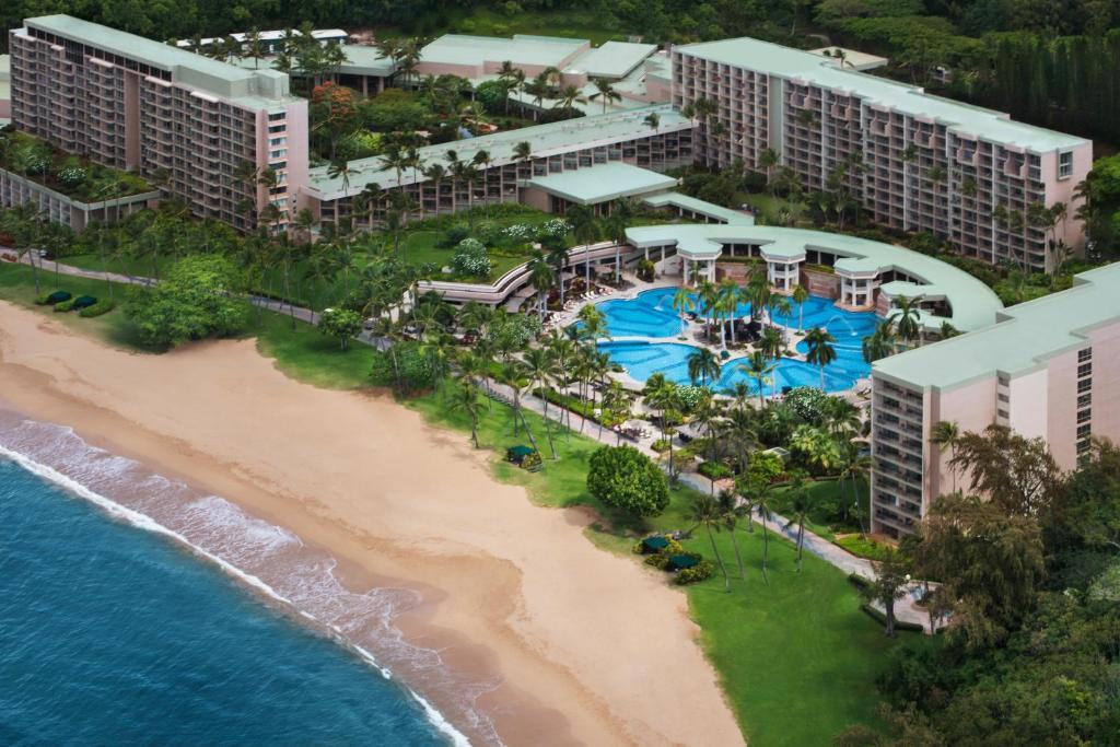 A bird's-eye view of Kauai Marriott Resort