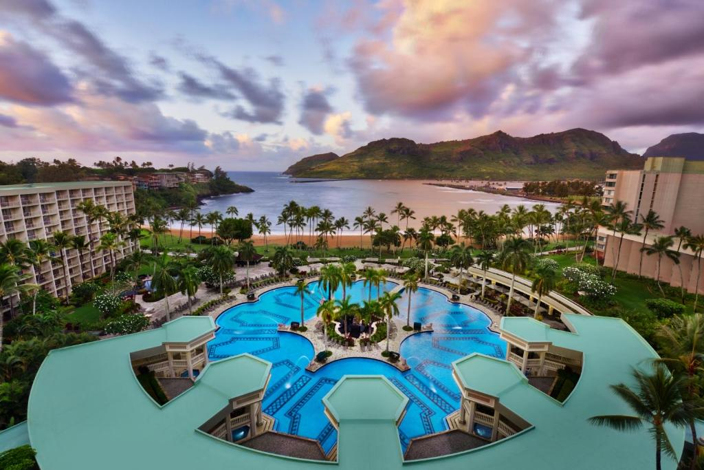 A view of the pool at Royal Sonesta Kaua'i Resort Lihue or nearby