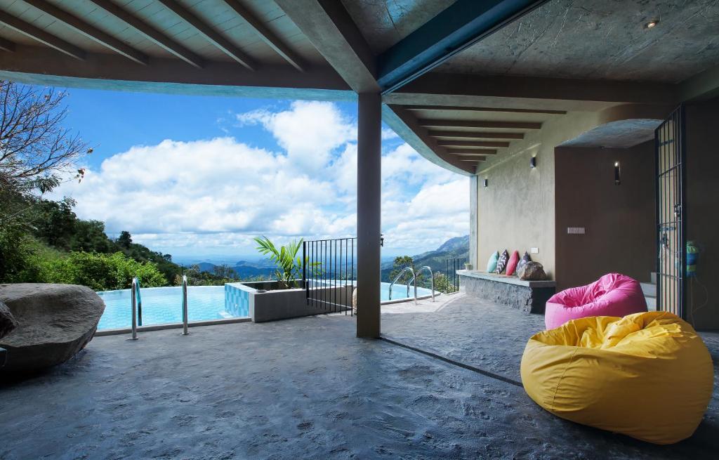 The swimming pool at or close to Villa Verde Ella