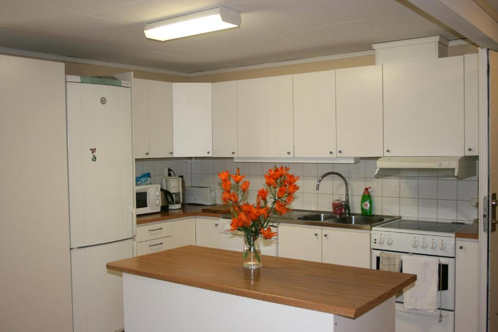 Ett kök eller pentry på Modal Annex