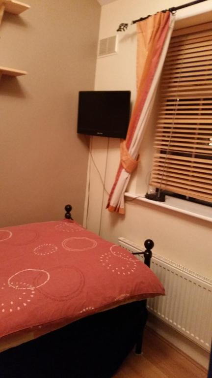 A television and/or entertainment center at Room to rent in Bromley