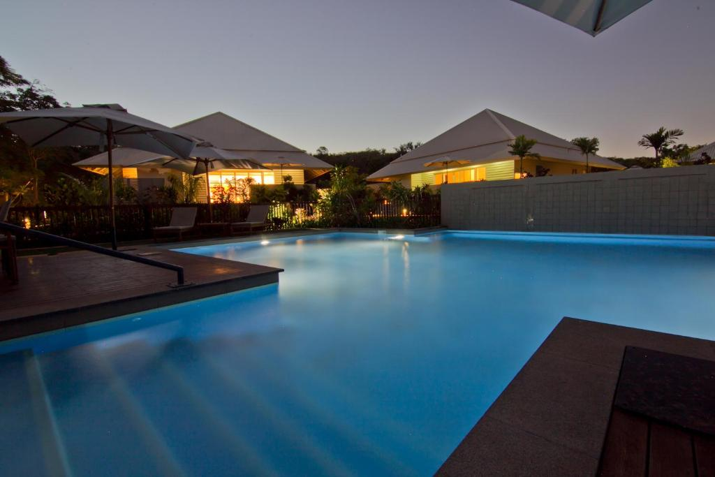 The swimming pool at or close to The Billi Resort