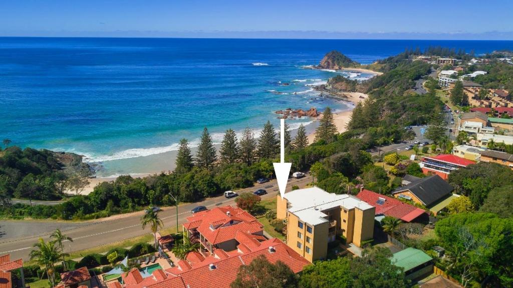 A bird's-eye view of Oceanview at Flynns
