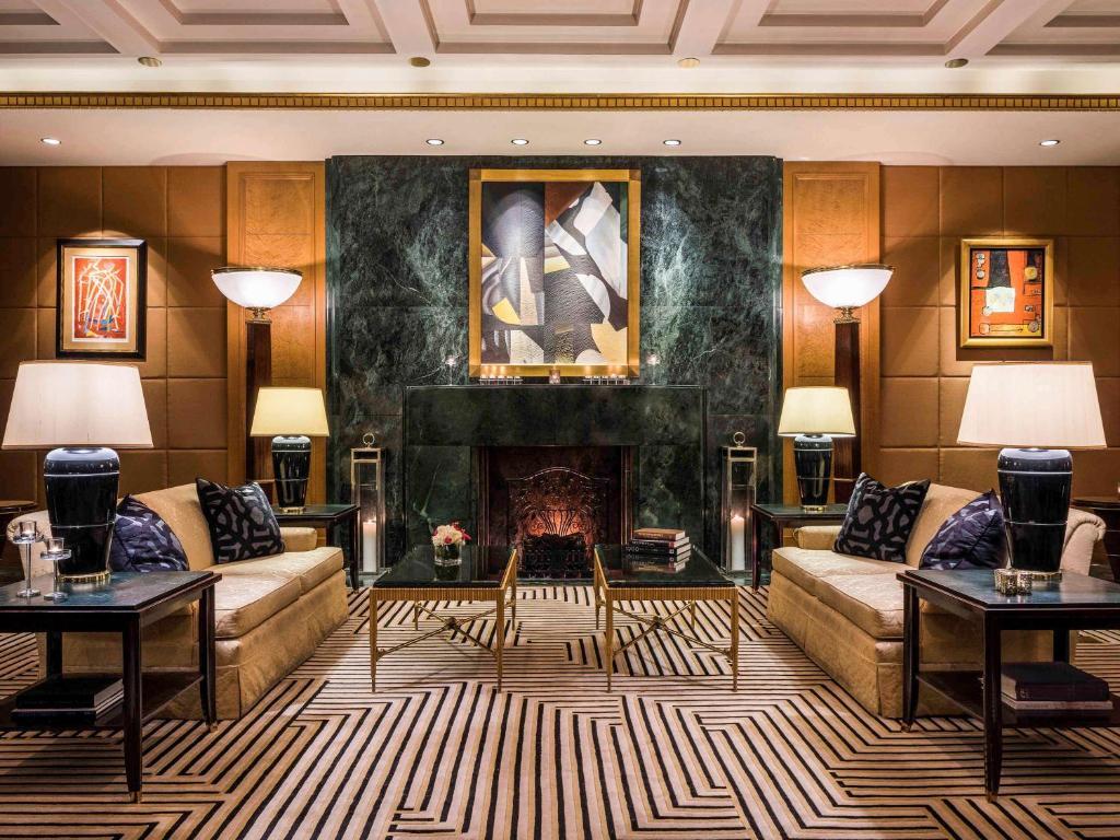 紐約索菲特酒店大廳或接待區