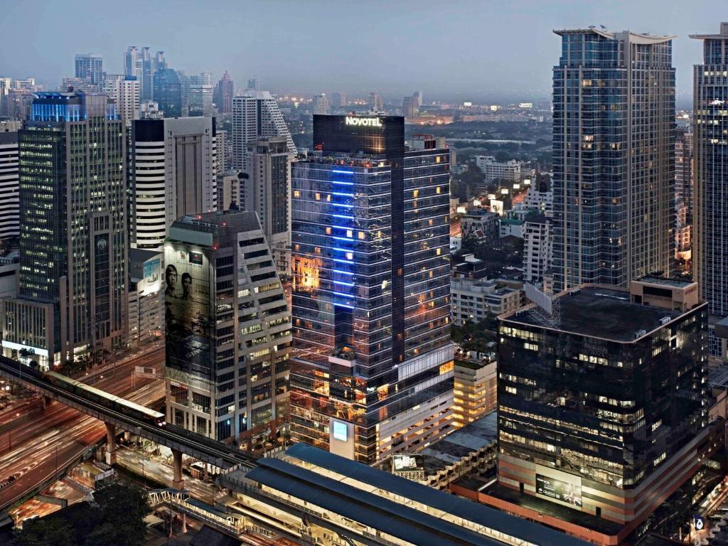 Vista aerea di Novotel Bangkok Ploenchit Sukhumvit - SHA Certified
