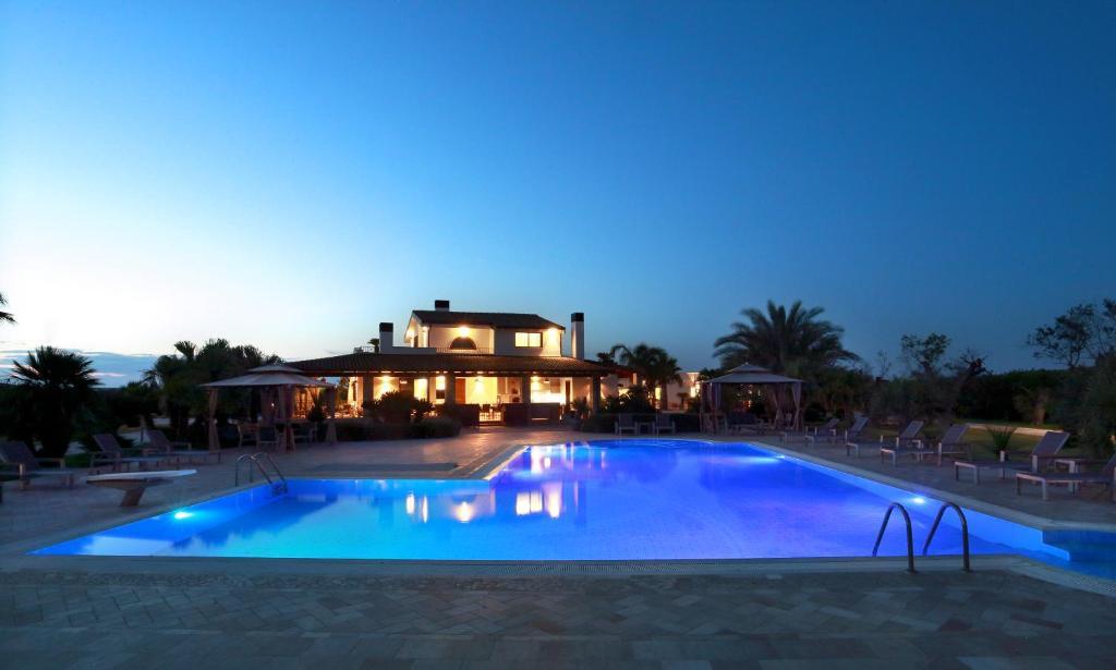 Piscina di Ferrocino Resort o nelle vicinanze