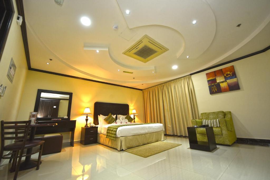 منطقة جلوس في Alain Hotel Ajman