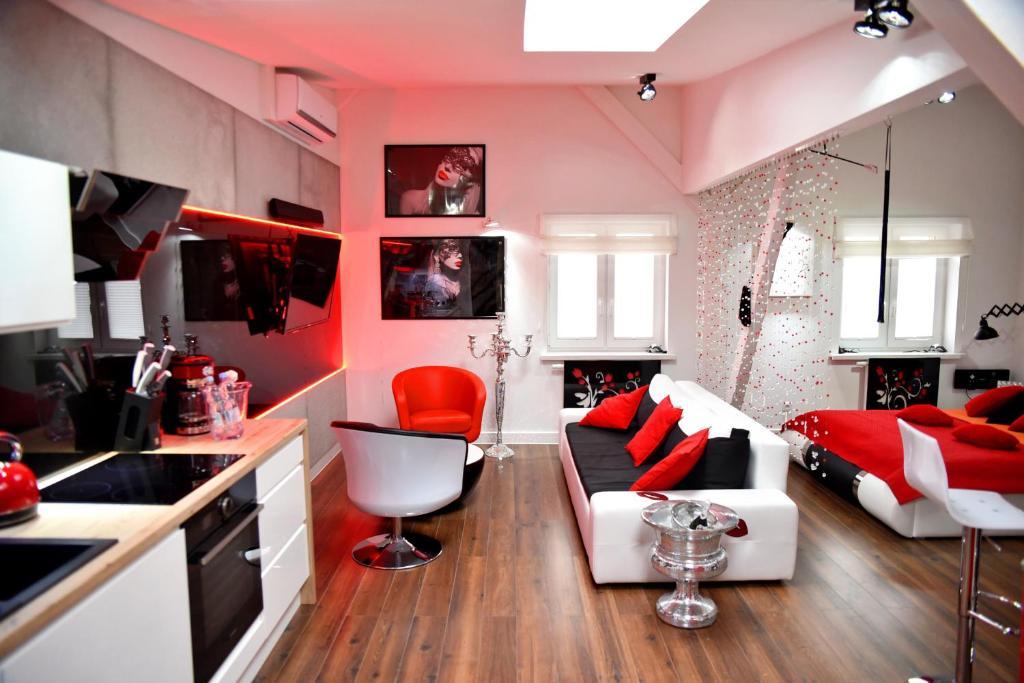 In The Attic Apartments Polen Stettin Booking Com
