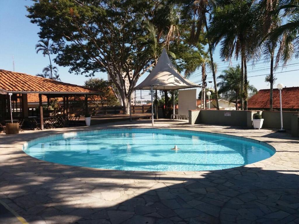 The swimming pool at or near Angatu Hotel