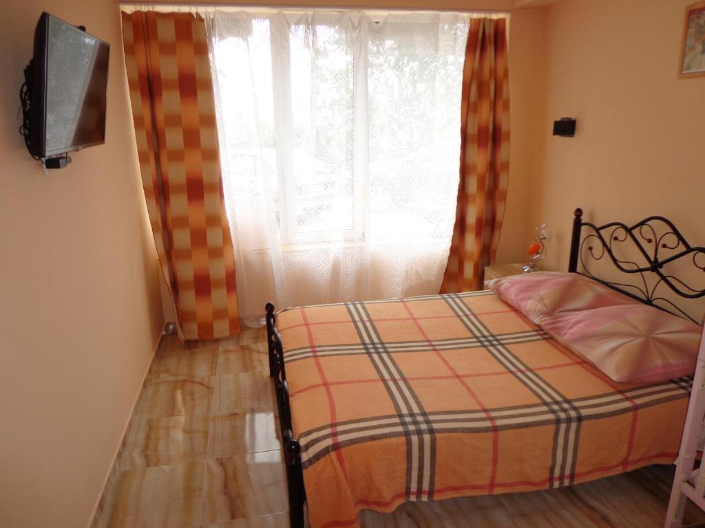 Кровать или кровати в номере 2 к.кв.с видом на море