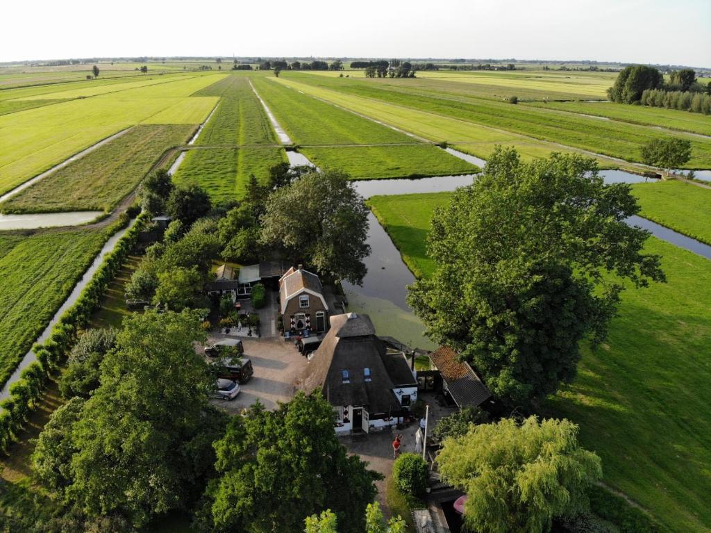 A bird's-eye view of De Ouwe Meulen