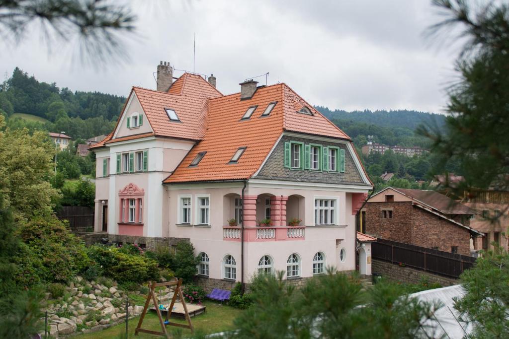 Budova, kde se penzion nachází