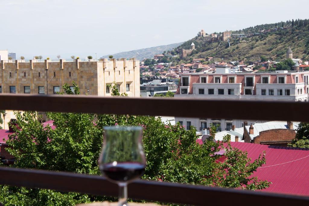A balcony or terrace at Diwan