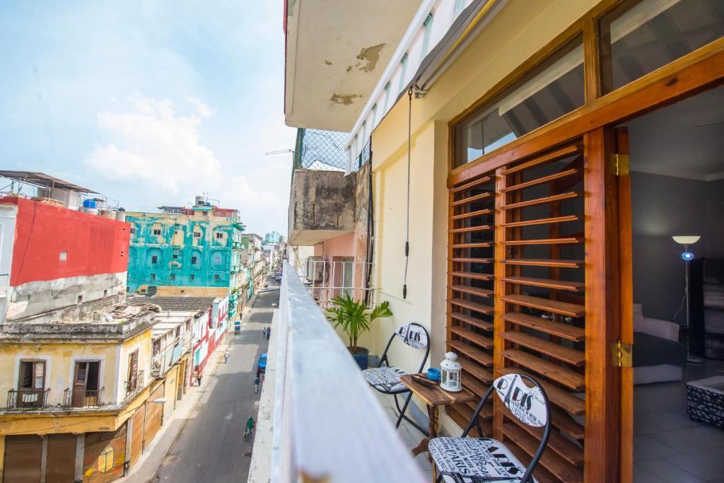 Un balcón o terraza de Casa La Caridad Apartment