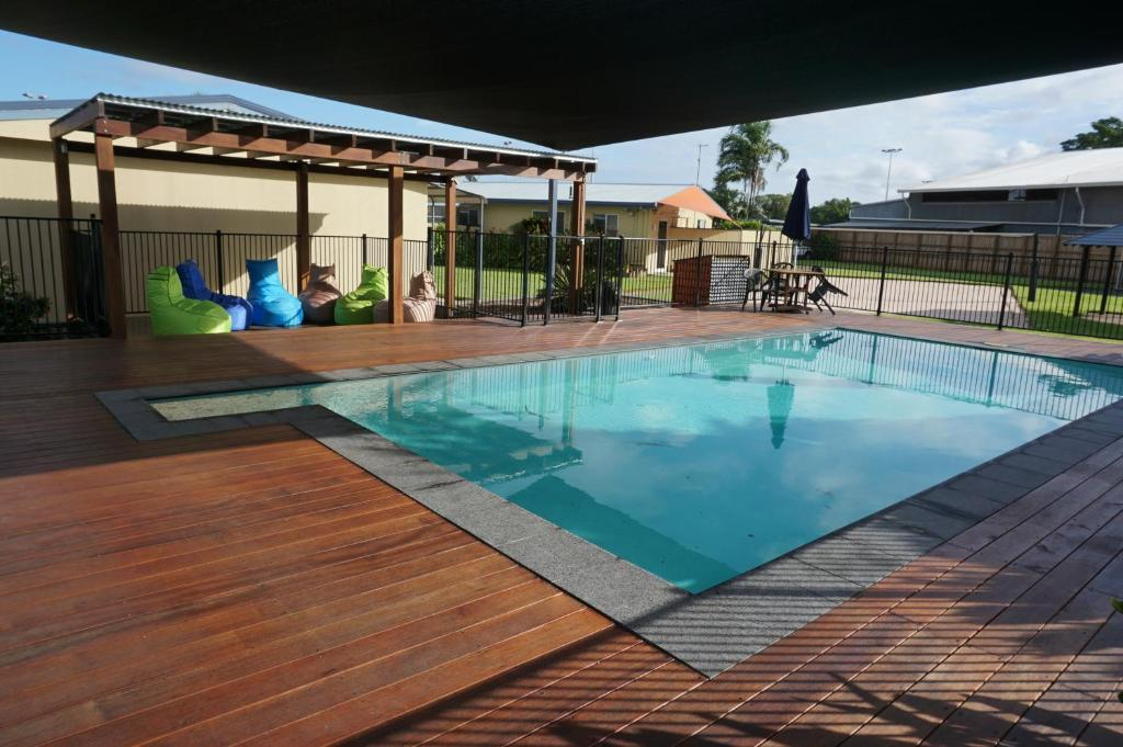 The swimming pool at or near YAL Cairns - Accommodation that makes a difference