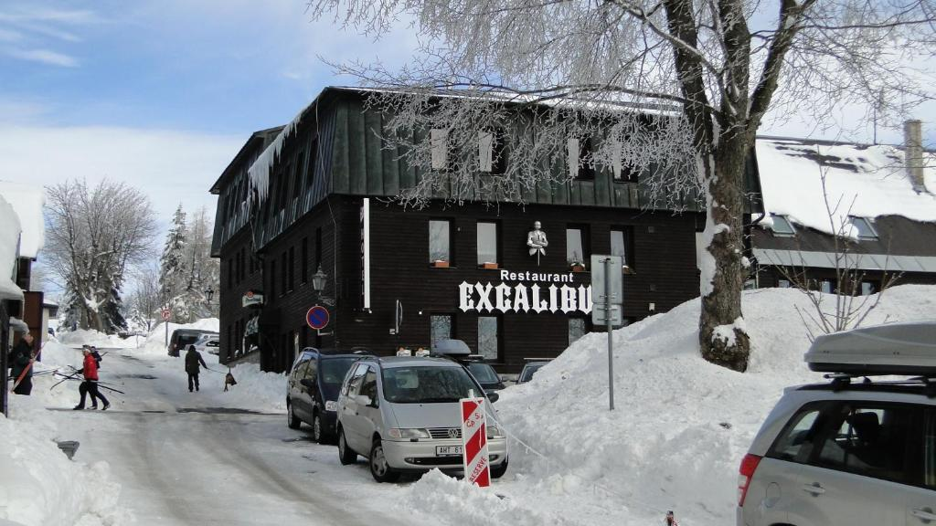 Hotel Bozi Dar - Excalibur during the winter
