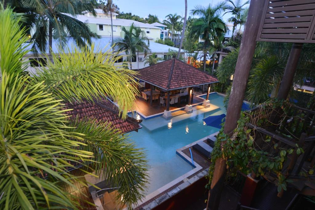 A view of the pool at Seascape Holidays - Hibiscus or nearby