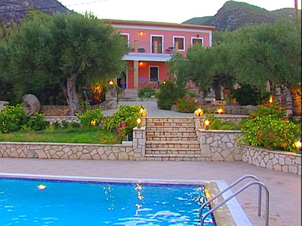 The swimming pool at or near Anatoli Labreon