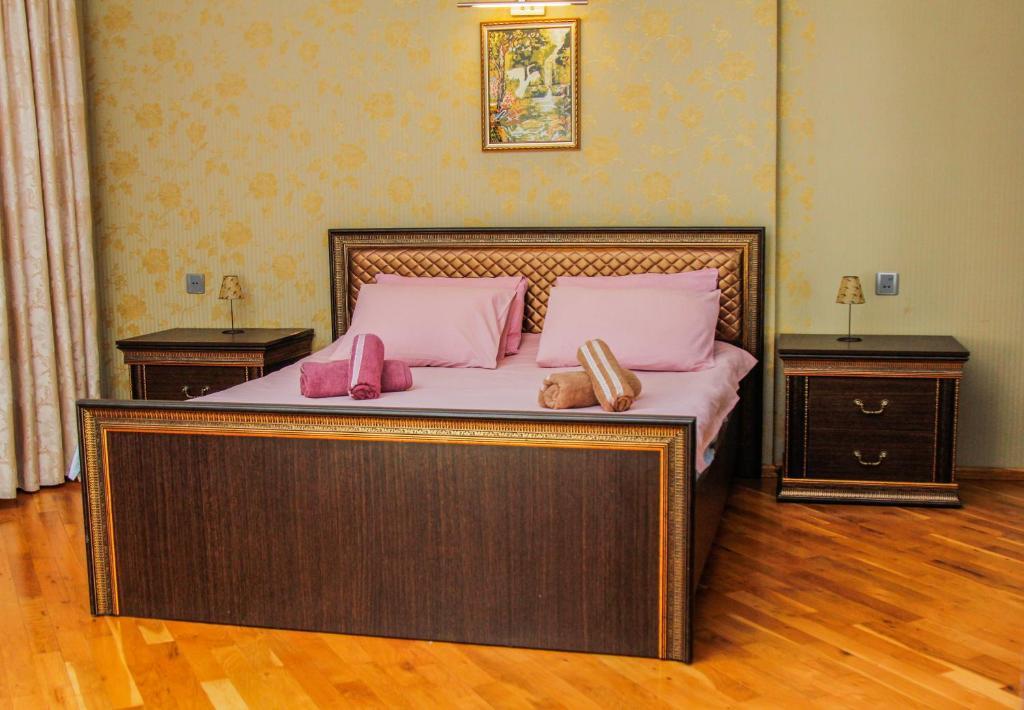 Cama ou camas em um quarto em Luxurious apartment in the center