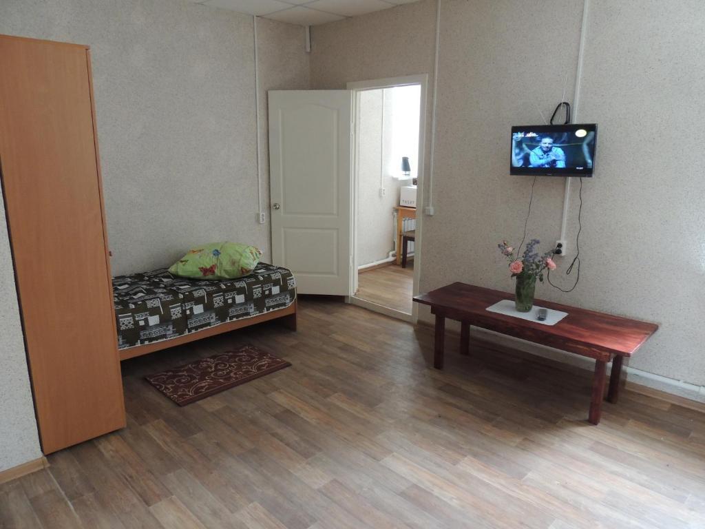 Гостиная зона в Отель у автостанции Острогожск