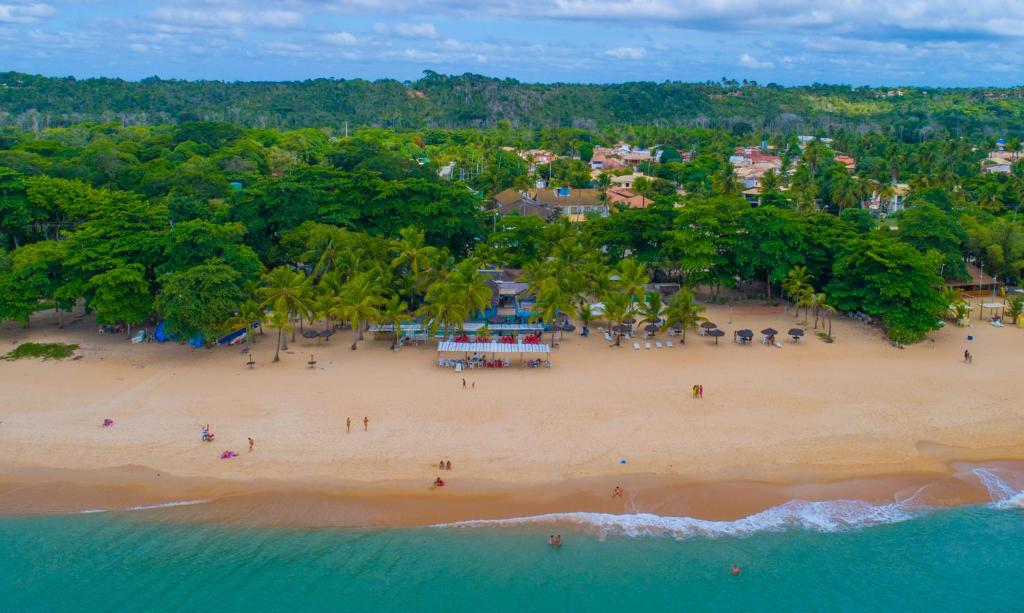 A bird's-eye view of Resort Pau Brasil All Inclusive