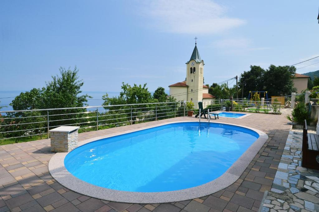 The swimming pool at or close to Apartments Krupic