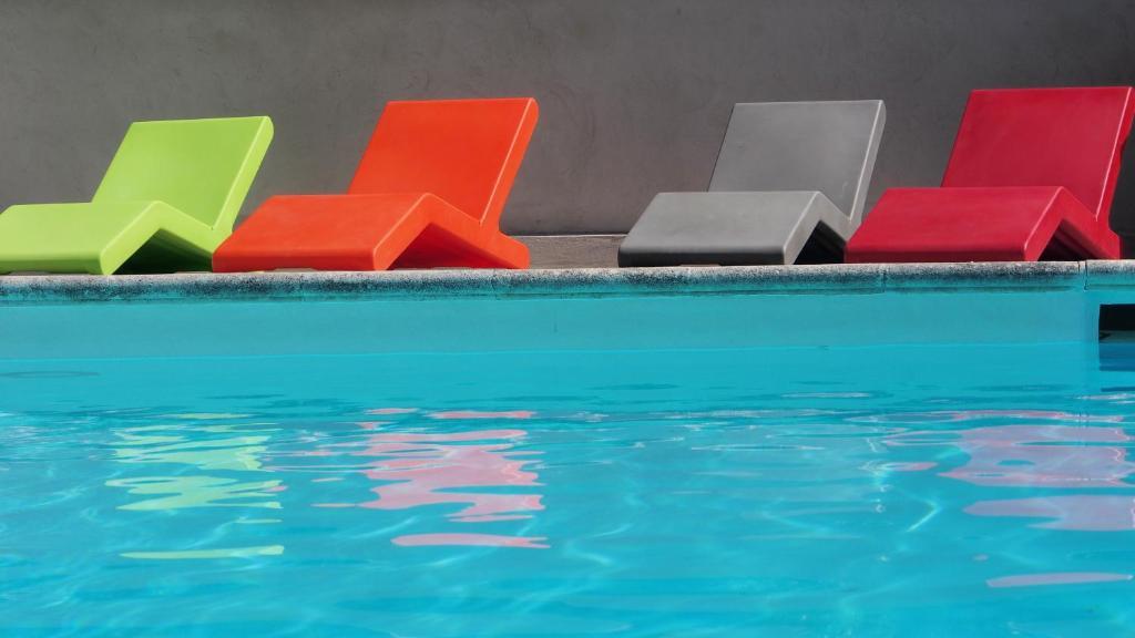 The swimming pool at or near A La Maison - Maison d'hôtes