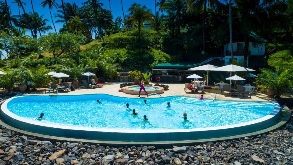 The swimming pool at or near Club Santana Beach & Resort