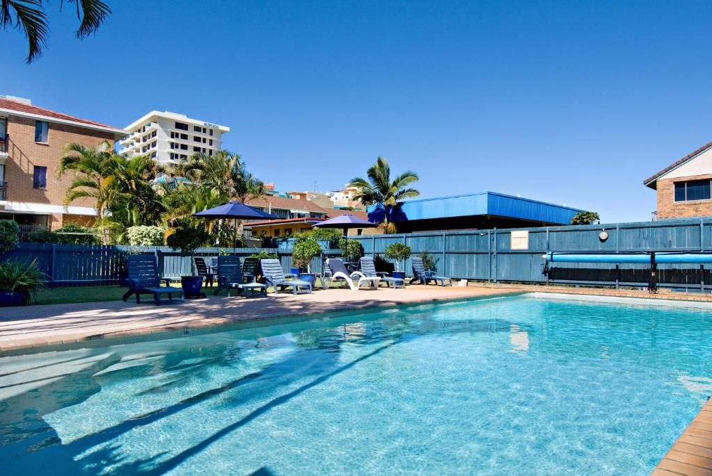 The swimming pool at or near Cheltenham Apartments