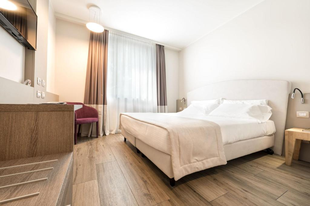 Letto o letti in una camera di DB Hotel Verona Airport And Congress