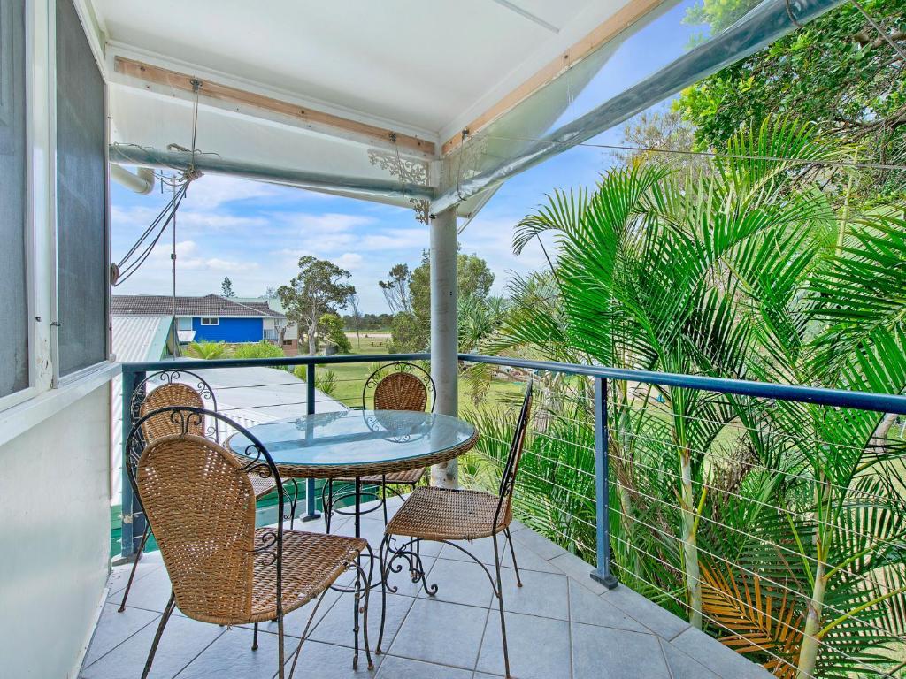 A balcony or terrace at Allamanda House, 3 Willow Street