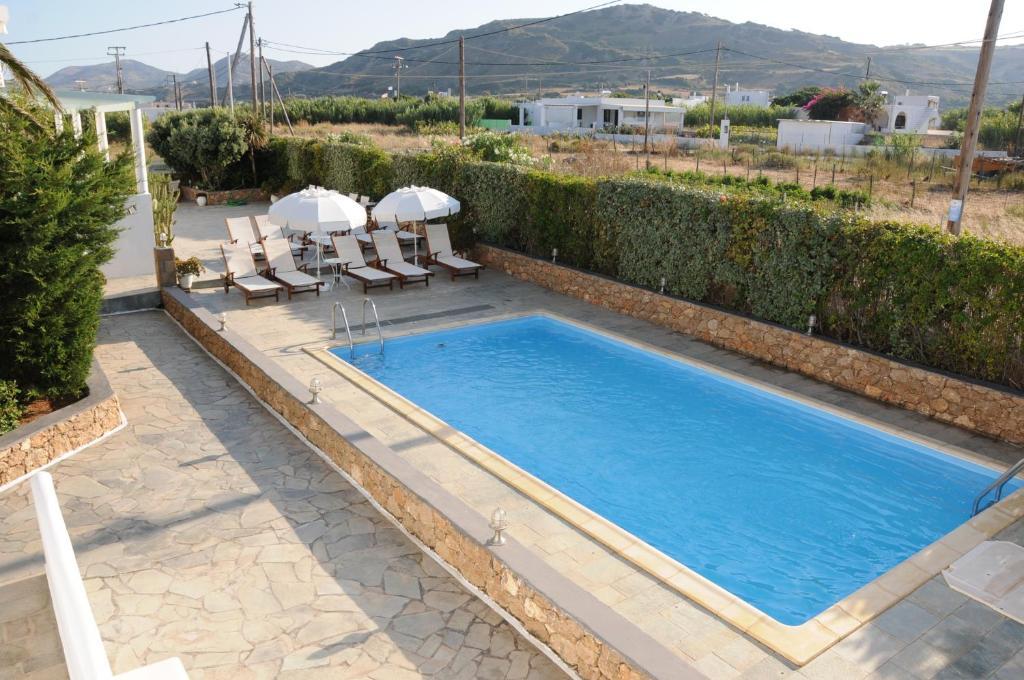 Πισίνα στο ή κοντά στο Crisio Studios