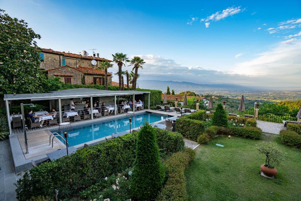 Villa Sassolini Luxury Boutique Hotel, The Originals Hotels Montevarchi, Italy